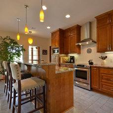 Traditional Kitchen by GreenTex Builders LLC