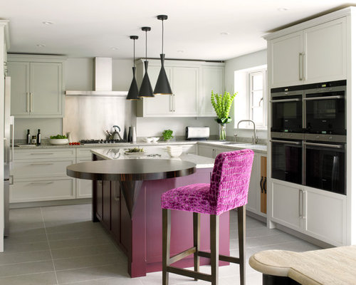 Captivating Trendy Kitchen Photo In London
