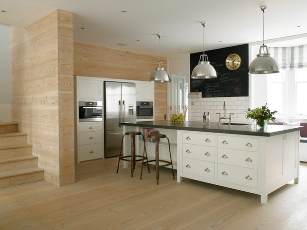 Transitional Kitchen by STEPHEN FLETCHER ARCHITECTS