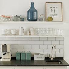Transitional Kitchen by STEPHEN FLETCHER ARCHITECTS