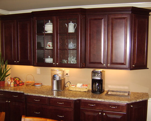 Winchester Cherry Cathedral Door Style By Shenandoah Cabinetry