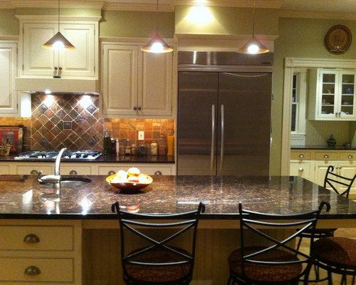 kitchen design ideas renovations photos with metallic