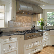 Traditional Kitchen by Michael Kim Assoc