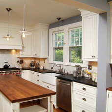 Farmhouse Kitchen by Shenandoah Furniture Gallery