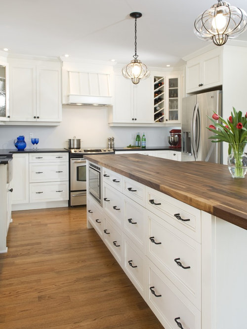 Walnut Butcher Block Houzz