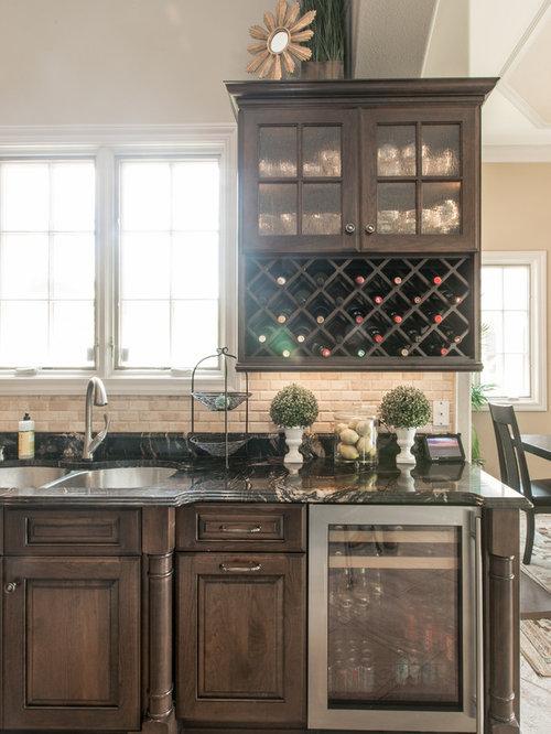 Ideas para cocinas | Diseños de cocinas con puertas de armario ...