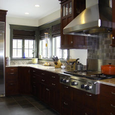 Craftsman Kitchen by Robin Amorello, CKD CAPS - Atmoscaper Design