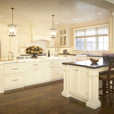 Traditional Kitchen by SDG Architecture, Inc.