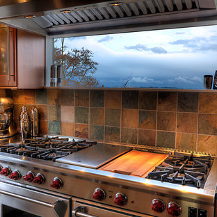 Window Over Stove | Houzz on lighting over stove, crown molding over stove, kitchen windows over sink, kitchen bay window above sink, kitchen windows over cooktop, kitchen windows over countertop, kitchen windows over cabinets, microwaves over stove, roof over stove,