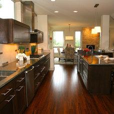 Contemporary Kitchen by Richard Landon Design