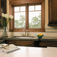 Traditional Kitchen by Lindus Construction/Midwest LeafGuard