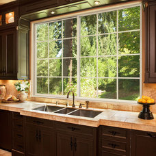Transitional Kitchen by Window World