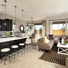 Beach Style Kitchen by Brookfield Residential Northern California