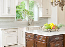 Beautiful kitchen! Can you tell me the maker and color of the Countertops?