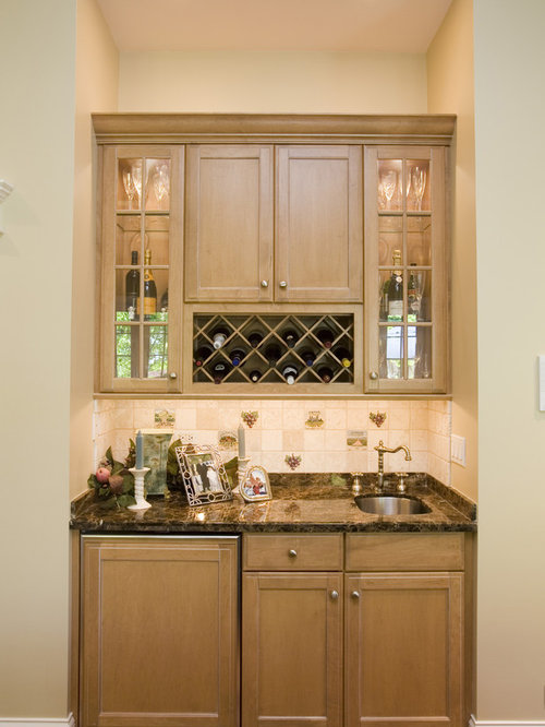 Best Wine Rack Above Refrigerator Design Ideas & Remodel Pictures | Houzz