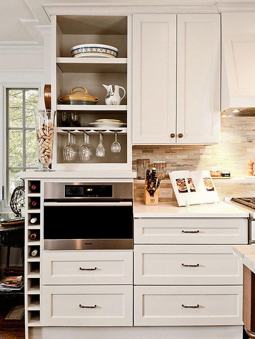 Kitchen Cabinets Wine Rack | Houzz
