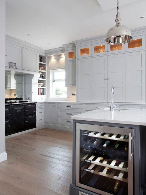 Dublin Kitchen With A Double Bowl Sink Design Ideas