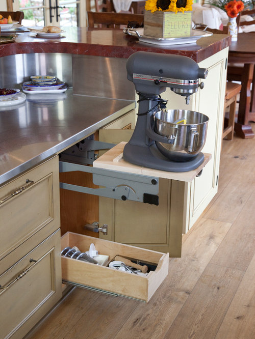 Kitchenaid Mixer Storage Ideas Pictures Remodel And Decor