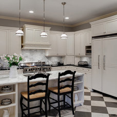 Eclectic Kitchen by Airoom Architects-Builders-Remodelers