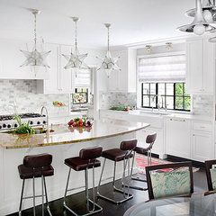 eclectic kitchen by Alan Design Studio