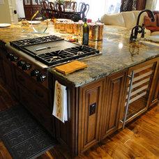 Traditional Kitchen by Jonathan McGrath Construction, LLC