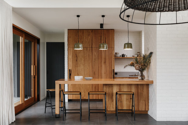 Contemporaneo Cucina by Mountford Williamson Architecture
