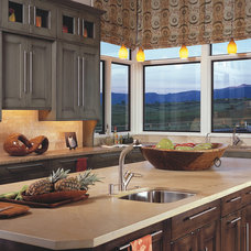 Transitional Kitchen by Wm Ohs Inc.