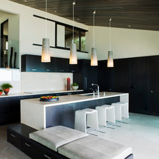 Contemporary Kitchen by Aria Design Inc