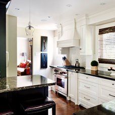 Transitional Kitchen by Gabriele Pizzale Design Inc.