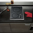 "Wolf 15"" Induction Cooktop, Stainless Steel 