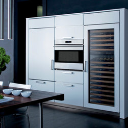 "Wolf 30"" E Series Transitional Built-In Single Oven Stainless Steel 