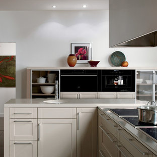 Transitional kitchen photo in Los Angeles