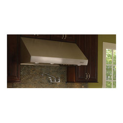 "Wolf 42"" Wall Mount Canopy Range Hood, Stainless Steel 