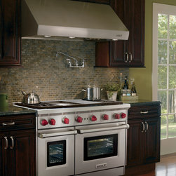 """Wolf 66"""" Wall Mount Canopy Range Hood, Stainless Steel 