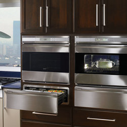 "Wolf E Series 30"" Single Electric Wall Oven, Stainless Steel 