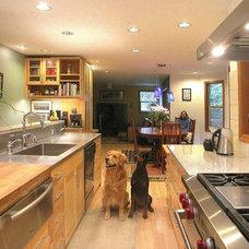 Contemporary Kitchen by J. Stephen Peterson & Associates, P.S.