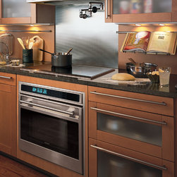 "Wolf L Series 30"" Single Electric Wall Oven, Classic Stainless Unframed 