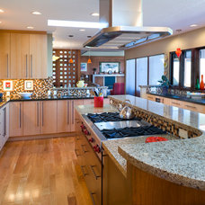 Eclectic Kitchen by Strite design + remodel