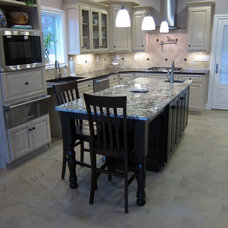 Traditional Kitchen by Indigo Granite and Tile