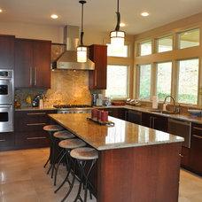 Contemporary Kitchen by Modern Millwork Kitchen & Bath Studio