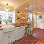 Teak Wood Butler S Pantry Countertop Traditional