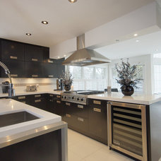 Modern Kitchen by Wingelaar Fine Homes (chris.business@rogers.com)