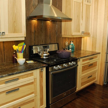 Wood-From country-chic to rustic-modern, all our kitchens are seasoned with love