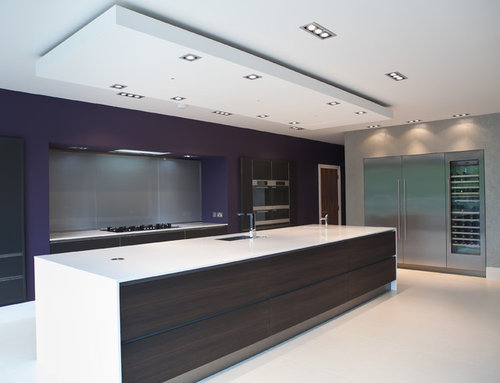 extraction fan for kitchen island | Houzz UK