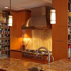 Contemporary Kitchen by Knight Construction Design   Chanhassen, Minnesota