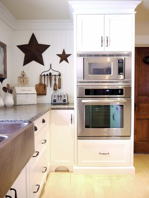 Built in oven houzz for Built in oven kitchen cabinets