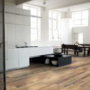 This is an example of an asian kitchen in London.