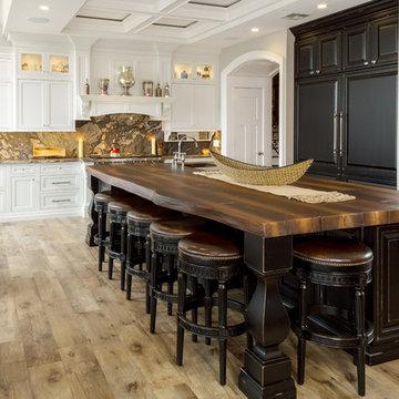 WoodForm Concrete Kitchen