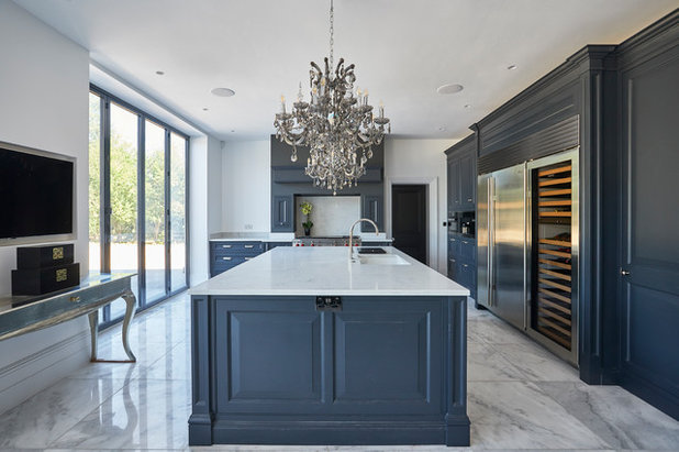 Transitional Kitchen by Mormac Group