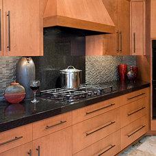 Asian Kitchen by Kristina Ciccu Interior Design